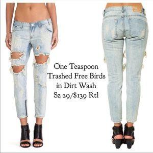 One Teaspoon Thrashed Jeans
